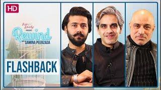 Omair Rana | Ali Abbas | Faran Tahir | Inspiring Stories | Rewind With Samina Peerzada