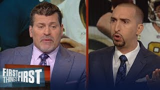 Mark Schlereth looks ahead to Sunday's Eagles vs Saints matchup | NFL | FIRST THINGS FIRST