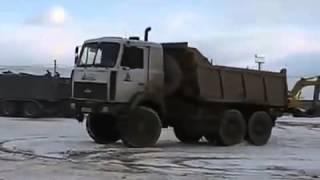 Extreme Machines, Dump truck MAZ 6X6 drift