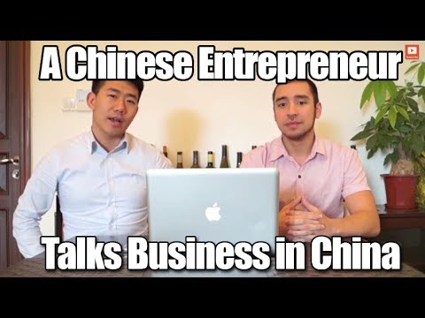 A Chinese Entrepreneur Talks Business in China
