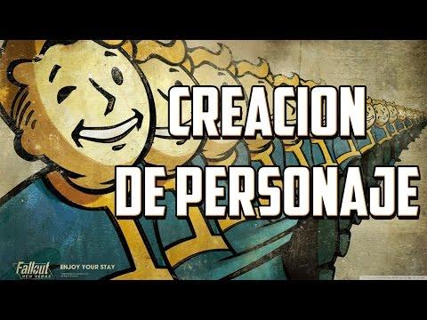 INICIO Y CREACIÓN DE PERSONAJE | Fallout New Vegas