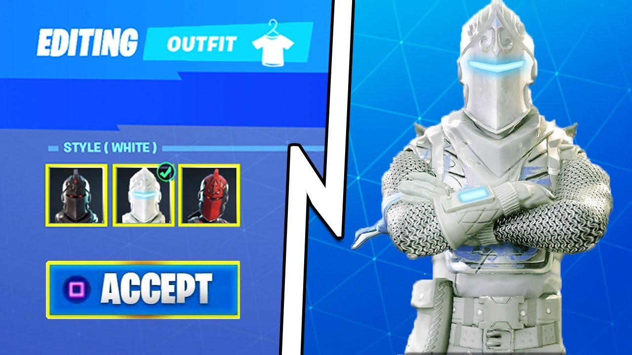 new winter knight skin coming to fortnite youtube. Black Bedroom Furniture Sets. Home Design Ideas