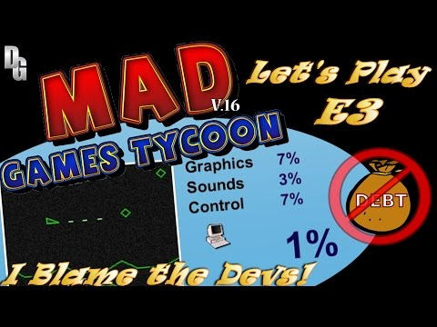Mad Games Tycoon(v0.16) ► Episode 3 ► To the Brink of Bankru