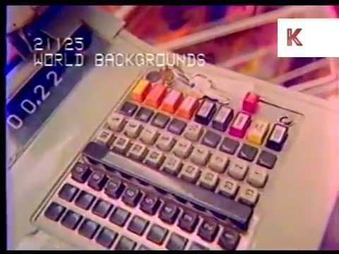 1970s UK Supermarket Checkout Old Fashioned Till  YouTube