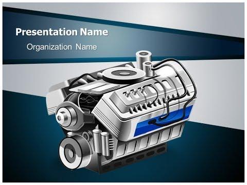 automobile-engine-powerpoint-ppt-template-|-thetemplatewizard.com