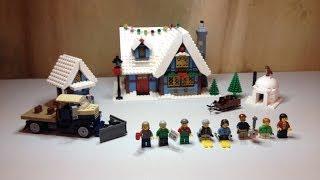 Lego Creator Winter Village Cottage Set 10229 Full Review