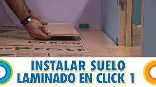 Instalar tarima de suelo o piso laminado en clik 1 - Aislante y lamas (BricocrackTV)