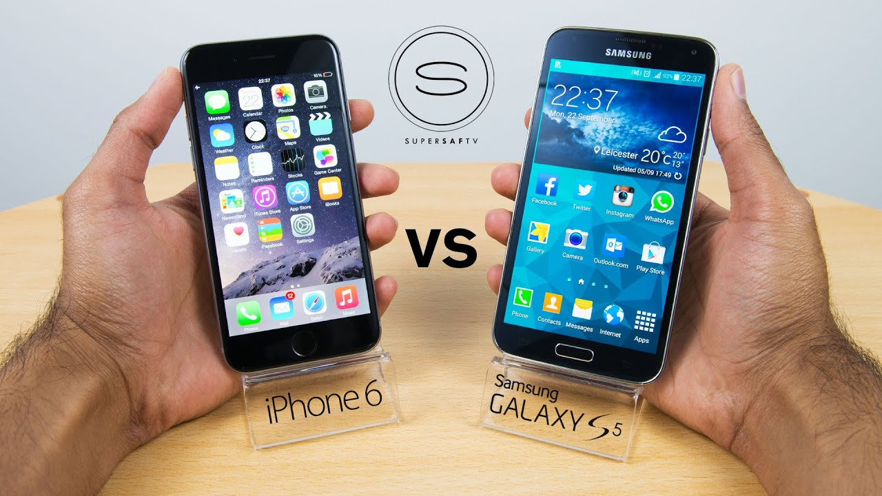 samsung galaxy s5 vs iphone 6 iphone 6 vs samsung galaxy s5 comparison supersaf 19442