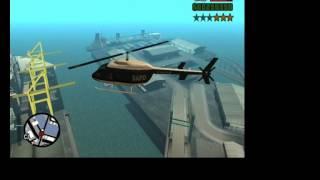 Como Pegar o Helicoptero da Polícia - GTA San Andreas
