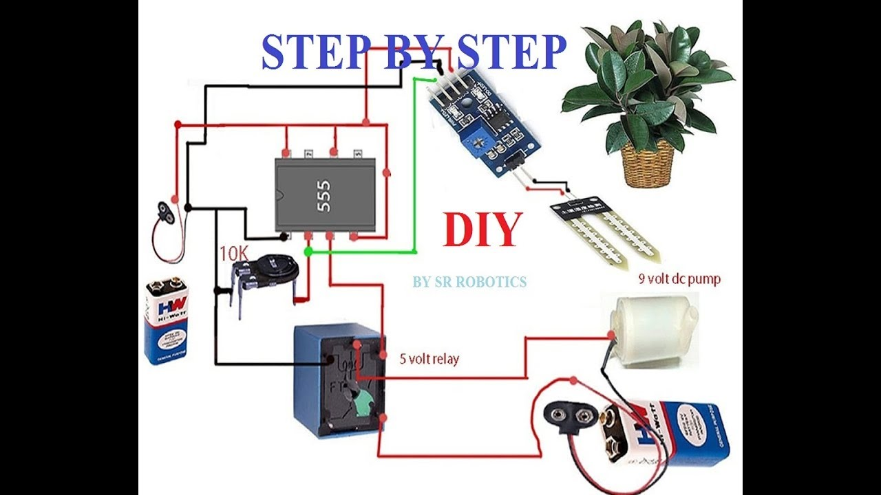 How to make Automatic Irrigation System using Soil sensor ( NEW ) - YouTubeYouTube