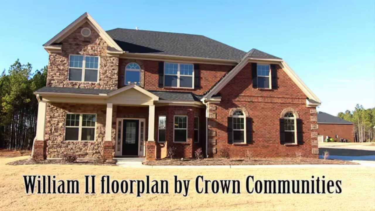 William II floorplan by Crown Communities in Columbia Lexington