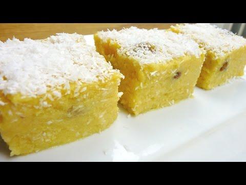 Episode 74  Mauritian Polenta Pudding   Poudine Mais  Maize Pudding 🌽