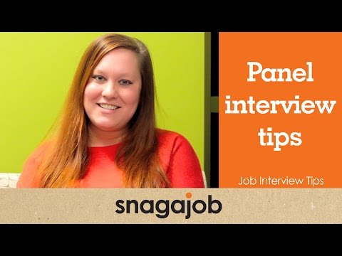 Job Interview Tips (Part 5): Panel Interview Tips