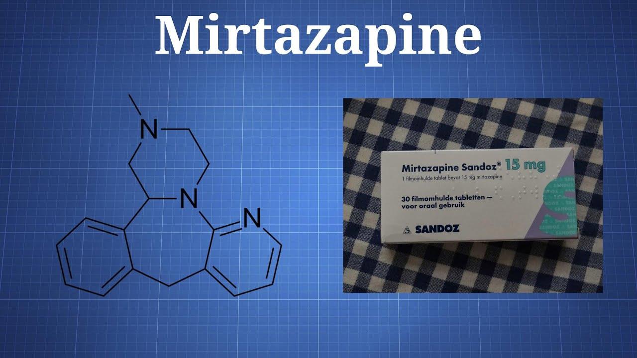 Mirtazapine - The Drug Classroom