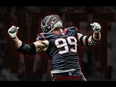 "J.J. Watt Career Highlights | ""Unstoppable"" 