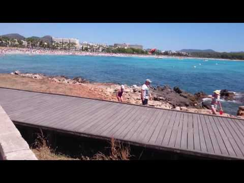 Mallorca 2016 - walk around the sea - from S'illot to Sa Coma beach 1080p