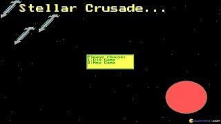 Stellar Crusade gameplay (PC Game, 1988)