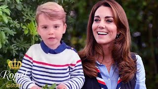 Just 3 years old, but Prince Louis has a hobby Catherine couldn't keep up with him - Royal Insider
