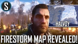 Firestorm Map Reveal! First Look at Halvøy