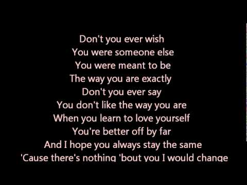Joey Mcintyre - Stay The Same Lyrics