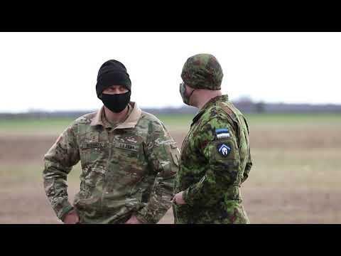 Estonian Defense League participate in Blackhawk Cold Load training