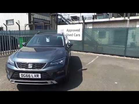 2016 SEAT Ateca SUV 1.6 TDI (115ps) First Edition Ecomotive 5-Dr For Sale at Crewe Seat