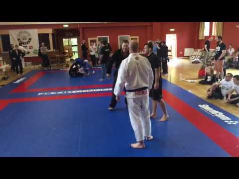 Anthony Davies Gloucester open final blue belt ultra heavyweight