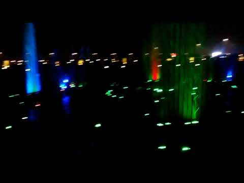 Colourful dancing Fountain in lucknow