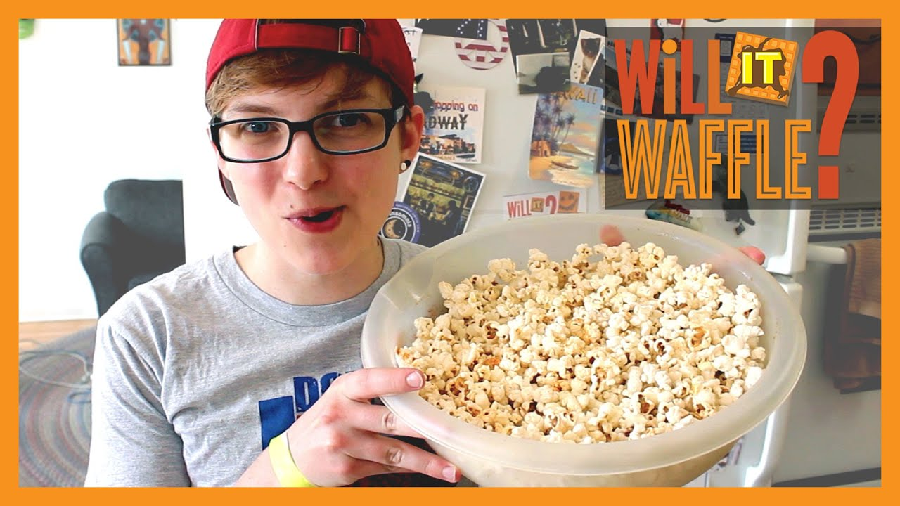 Watch How to Make Popcorn Waffles video