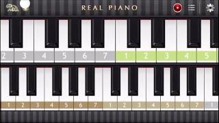Как сыграть на пианино Игорь Корнелюк город которого нет