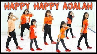 Download GOYANG HAPPY HAPPY AJALAH - TARAK TAKTUNG 2020 - DANCE JOGET SENAM ZUMBA - GIRLS VERSION