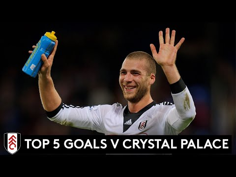 Top 5: The best Fulham goals v Crystal Palace | Kasami, Sidwell, Cairney, Cole & David