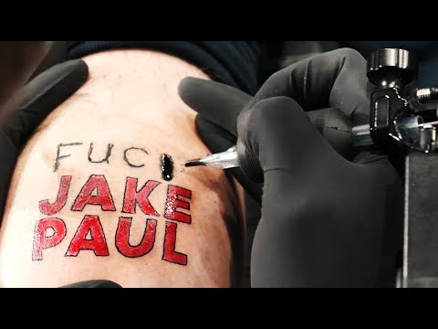 I Got Jake Paul Tattoo'd On My Body