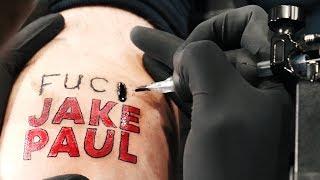 I Got Jake Paul Tattoo'd On My Body