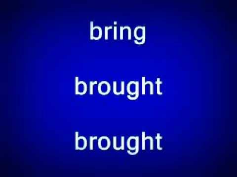 verbos irregulares em ingles mais usados