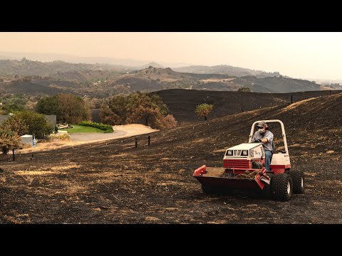 Wildfire vs Tractor - California Homeowner Prevents Total Loss with Ventrac