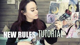 Download lagu New Rules - Dua Lipa (Kelaska Ukulele TUTORIAL)