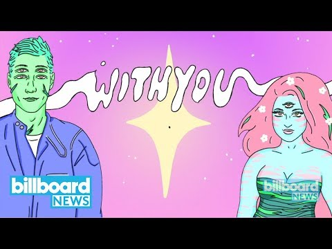 Kaskade & Meghan Trainor Release Vibrant 'With You' Music Video | Billboard News