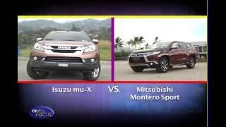 Isuzu mu-X vs Mitsubishi Montero Sport - Head 2 Head