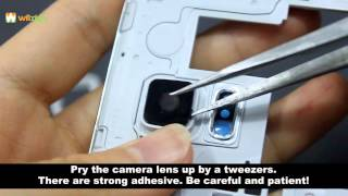 How to Remove Galaxy S5 Camera Lens & Replace A New One