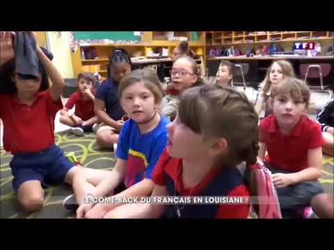 Louisiane LAFAYETTE  20H JOURNAL TF1 DU SAMEDI 17 MARS 2018