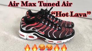 nike air max plus hot lava