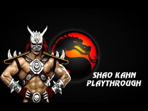MKP 4.1 Season 2 (MUGEN) - Shao Kahn Playthrough *Flexible Version*