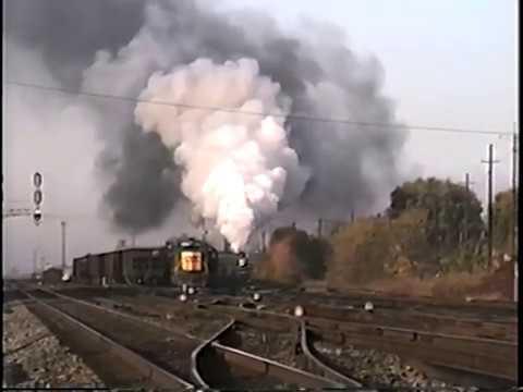 CSX Transportation Locomotive Yard Tour 1992 - Part 4