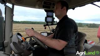 AgriLand: Roe Agri Services; running a big square baler in Co. Laois (Ireland)