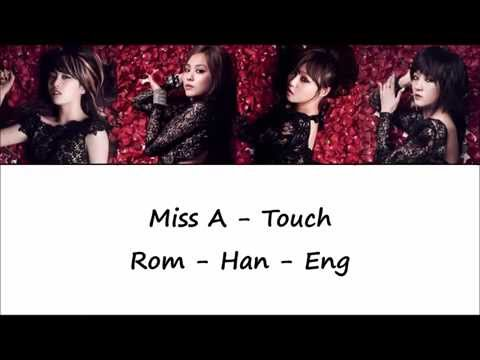 Miss A - Touch ColorCoded Lyrics