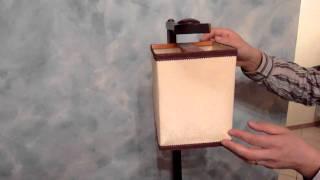 Invenzione con 2 magneti ( magnetic lamp )