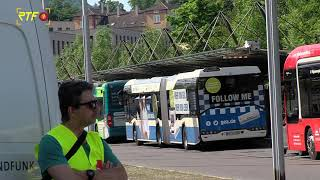 Warnstreiks im Busverkehr am Dienstag