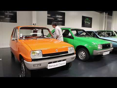 120 Ans De Renault : Visite Guidée Du « Garage » Renault En Vidéo