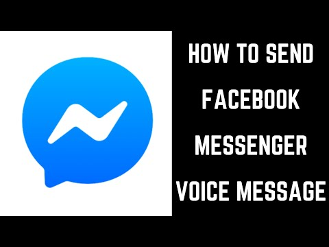 How To Send Facebook Messenger Voice Message